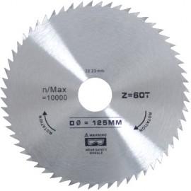 Panza Circulara Lemn 125mmx60T - 638016