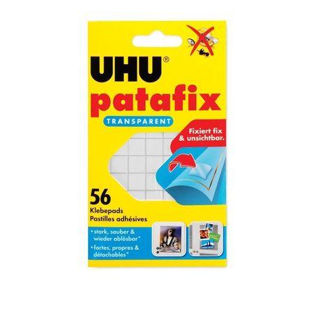 UHU Patafix Invisible 56 pads bl c.37155