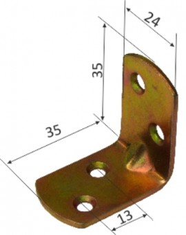 Coltar pt Mobila 11017 - 35x35x24x2 - 649260