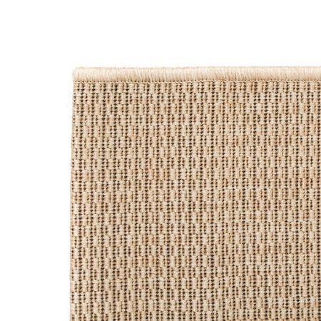 Covor aspect sisal de interior/exterior, 120 x 170 cm, bej