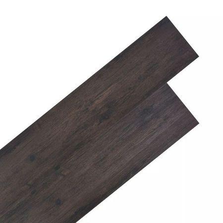 Plăci de pardoseală, PVC, 5,26 m², stejar gri închis