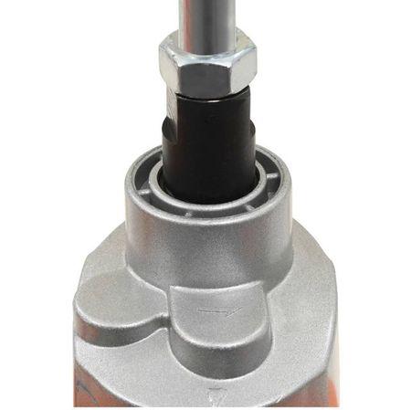 vidaXL Mixer de beton electric manual, două trepte de viteză, 1400 W