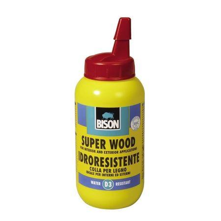 BISON Super Wood D3 adeziv PVAC, lemn 250g