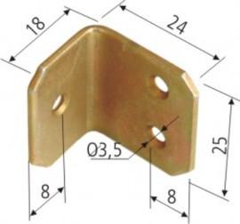 Coltar pt Mobila 1017 - 18x24x25x1.5 - 649254