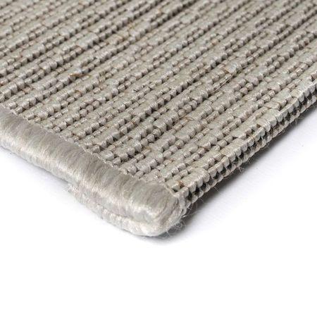 Covor aspect sisal de interior/exterior, 180 x 280 cm, gri