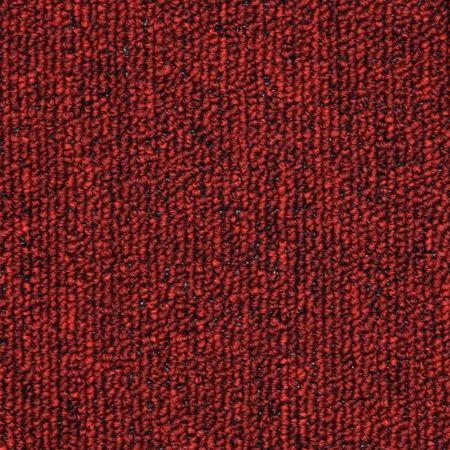 Covorașe de scări, 15 buc, roșu bordo, 56 x 17 x 3 cm