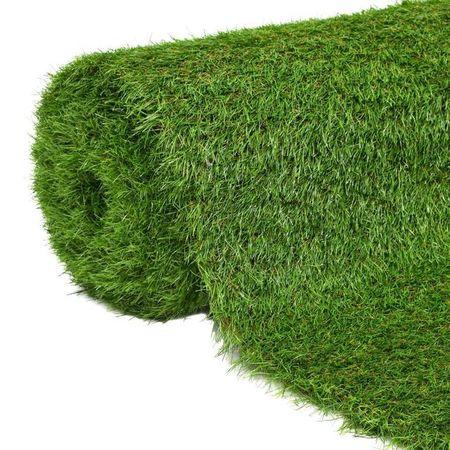 Iarbă artificială 1 x 15 m/40 mm, verde