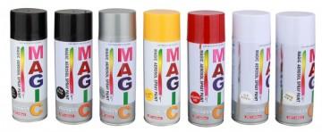 Spray Vopsea Negru Lucios - 659060