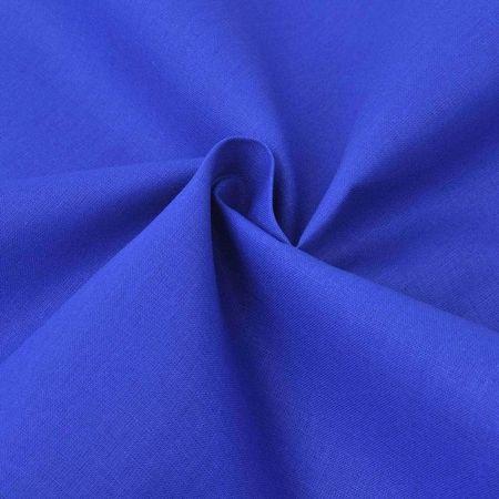 Țesătură din bumbac 1,45 x 20 m, albastru