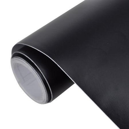 Autocolant folie impermeabilă mată Negru 500 x 152 cm