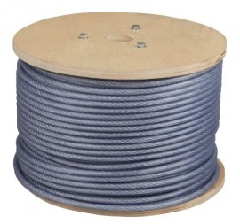 Cablu Otel Zincat Plastifiat - 5-6.5x100 - 673565