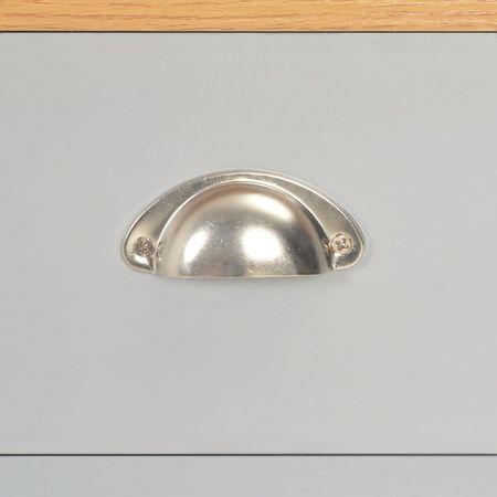Măsuță de cafea, gri, 100 x 50 x 42 cm