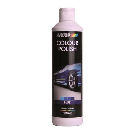 MOTIP COLOUR POLISH 748C polish  albastru 500ml