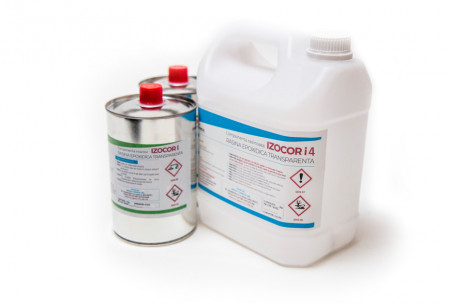 Rasina epoxidica super transparenta - IZOCOR i4 - 15 kg