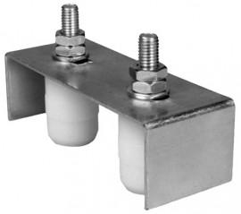 Suport Reglabil pentru Porti, 2 Role Cilindrice ETS - 673680
