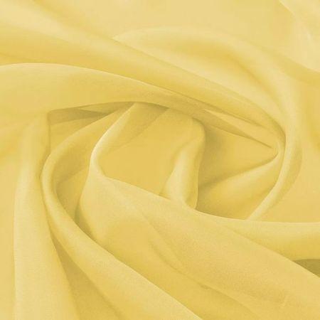 Țesătură din voal 1,45 x 20 m, galben
