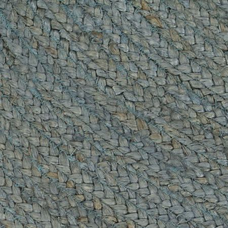 vidaXL Covor manual, verde măsliniu, 120 cm, iută, rotund