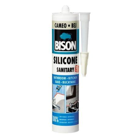 BISON Silicon Sanitar bej 280ml