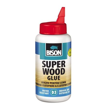 BISON Super Wood D3 adeziv PVAC, lemn 750g