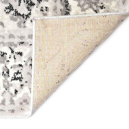 Covor, gri și negru, 140 x 200 cm, PP