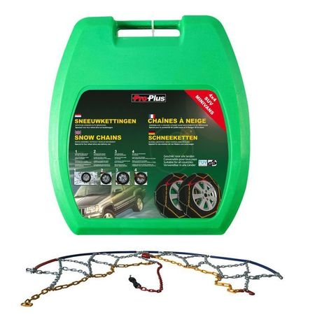 Proplus Lanțuri pentru anvelope auto 16 mm KB45, 2 buc.