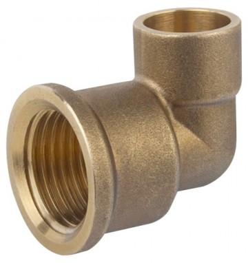 Racord Cotit Bronz (Teava Cupru) 1/2inch  - 667051