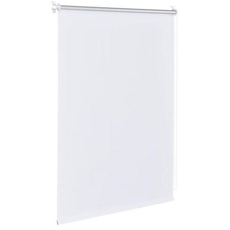 Roleta cu consola / - 100 x 175 cm - alb- jaluzea - fara gaurire