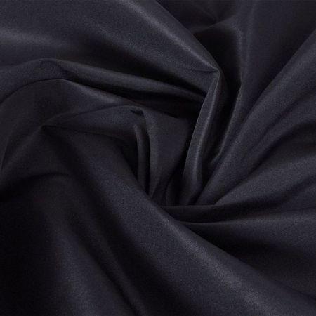 Țesătură micro-satin, 1,45 x 20 m, negru