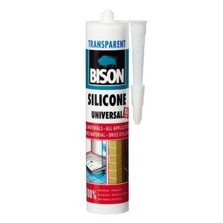 BISON Silicon universal transp. 280ml