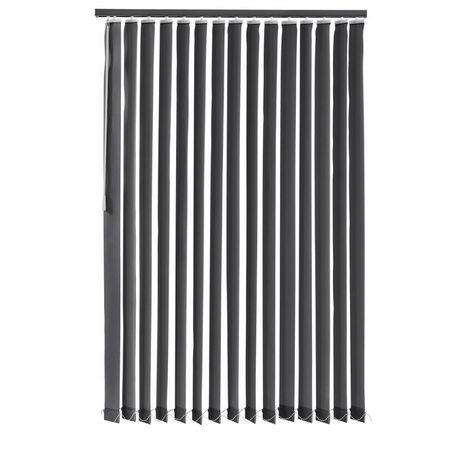 Jaluzele verticale cu lamele 120x180 cm - gri