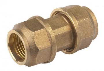 Mufa Rapida Dubla Bronz Teava PVC 20 x 20 mm - 667066