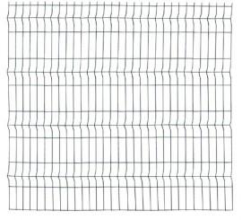 Panou Bordurat Zincat pt Gard - 2.5x1.2 - 653137