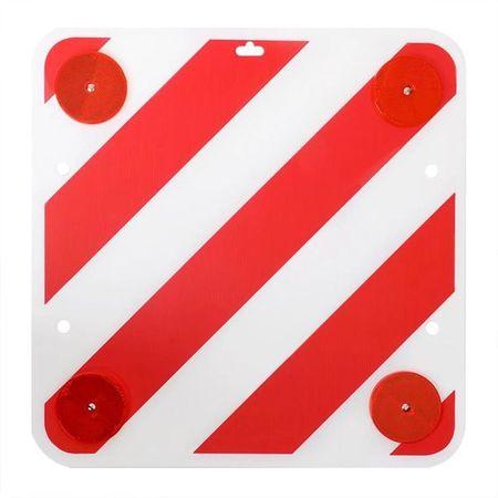 Semn avertizare plastic reflectorizant 361228 ProPlus, 50x50cm