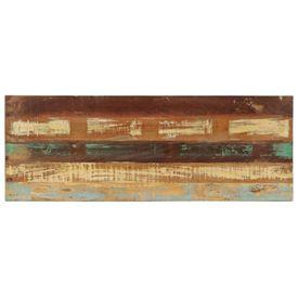 Bancă, 110 cm, lemn masiv reciclat