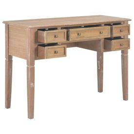 Birou de scris, maro, 109,5x45x77,5 cm, lemn