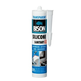 BISON Silicon Sanitar transp. 280ml