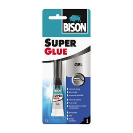 BISON Super Glue Gel 3g bl.