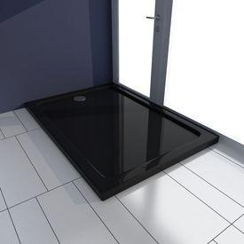 Cădiță de duș dreptunghiulară ABS 70 x 100 cm