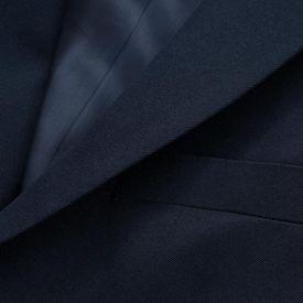 Costum de ocazie pentru copii 3 piese mărime 140/146 bleumarin