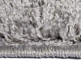 Covor cu fir lung, 80 x 150 cm, gri