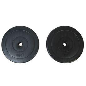 Discuri greutate ganteră 2x10 kg