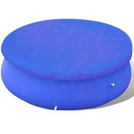 Folie pentru piscină rotundă din PE 90 g/mp 335 cm