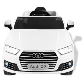 Mașinuță electrică Audi Q7, alb, 6 V