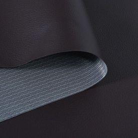 Material din piele artificială, 1,4 x 4 m, maro
