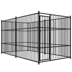 Padoc de câini pentru exterior, 400 x 200 cm