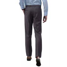 Pantaloni bărbătești de costum, Gri, Mărimea 48