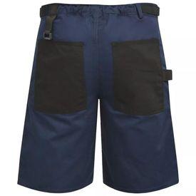 Pantaloni scurți de lucru pentru bărbați, mărime L, albastru