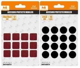 Pastile Autoadezive Protectie Mobilier Patrate - 655222