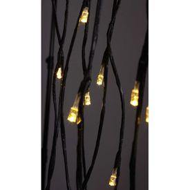 Pom de Crăciun, lumină LED alb cald, model salcie, 150 cm
