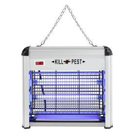 [pro.tec]® Capcana electrica pentru insecte HTMK-6840, 26,5 x 10 x 24 cm, 12W, aluminiu, raza actiune 30 mp